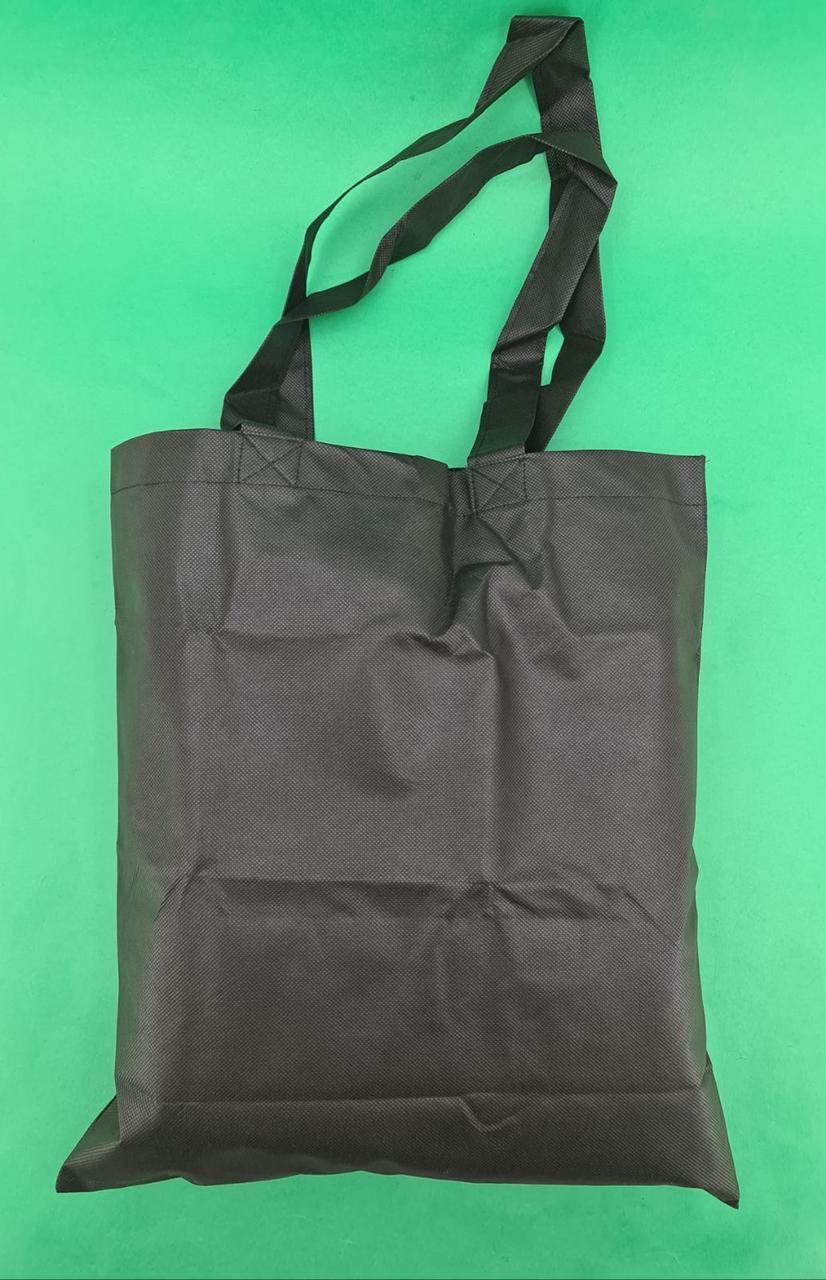 Сумка чорна (спанбонд) 37х41 см ручка 36 см (1 шт)