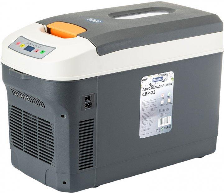 Автохолодильник на 22 л Thermo CBP-22, охолодження / нагрів, від автомобільного прикурювача (12 В)