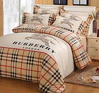 Сатиновое постельное белье в клетку Burberry