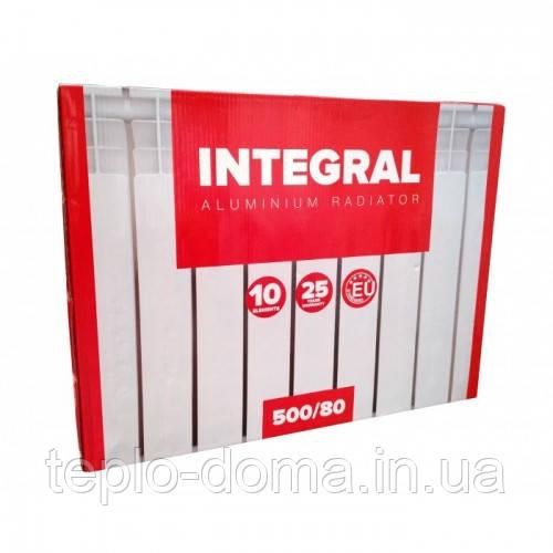 Радиатор алюминиевый для отопления 500x80 (Integral)