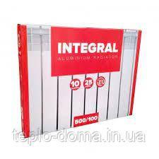 Радиатор алюминиевый для отопления 500x100 (Integral)