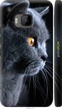 """Чохол на HTC One M9 Красивий кіт """"3038c-129-2448"""""""