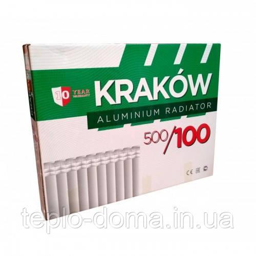 Радиатор алюминиевый для отопления 500х100 (KRAKOW)