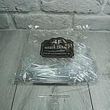 Шпажка для канапе Кристалл 500шт. прозрачный, фото 4