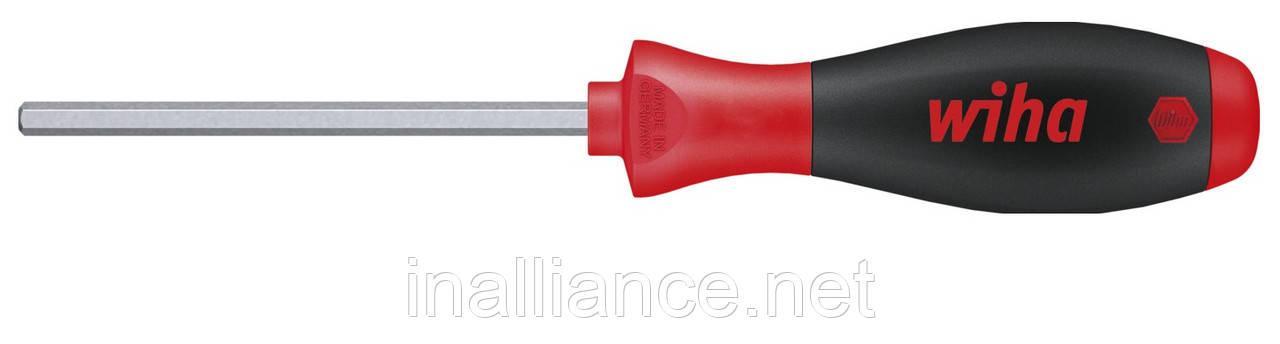 Отвертка HEX 2,0 х 60 мм для винтов с внутренним шестигранником SoftFinish Wiha 32265