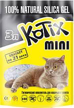 Силикагелевый наповнювач Kotix (Котикс) 3л