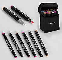 Набір скетч-маркерів 36 кольорів, в чохлі