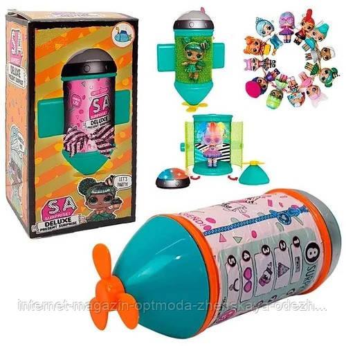 Блестящая стильная Кукла LOL, подводная лодка   Подарочный игровой набор