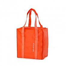 Изотермическая сумка Giostyle Fiesta Vertical tangerine для еды и напитков