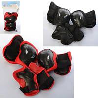 Дитяча Захист для колін, ліктів, зап'ясть, в сітці,19-34-8 см