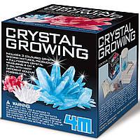 Набор для выращивания кристаллов для детей 4M набор для опытов химические чудеса вырастить кристалл от 10 лет