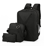 Набор рюкзак + сумка + клатч, фото 10