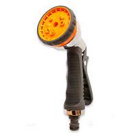 Пистолет-распылитель для полива Presto 8 режимов метал (хром)