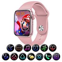 Смарт часы M26 Plus 44mm Smart Watch Series 6 Умный фитнес браслет. Анимированные циферблаты, голосовой вызов