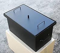 Коптильня горячего копчения (520х300х280) окрашенная