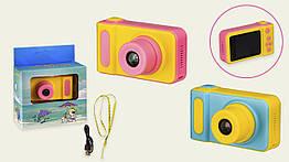Детская цифровая камера C133 (60шт)с картой памяти 8Gb 2 цвета, 8,3*4,6*4,5 см в коробке