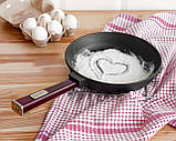 Сковорода чавунна Optima-Bordo, 260х40мм, фото 4