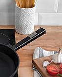 Сковорода чавунна Optima-Black, 280х40 мм, фото 4