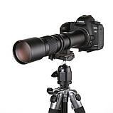 Фотооб'єктив 500 мм F/8,0 з багатошаровим покриттям телеоб'єктив для цифрових дзеркальних фотокамер, фото 5