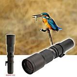 Фотооб'єктив 500 мм F/8,0 з багатошаровим покриттям телеоб'єктив для цифрових дзеркальних фотокамер, фото 4