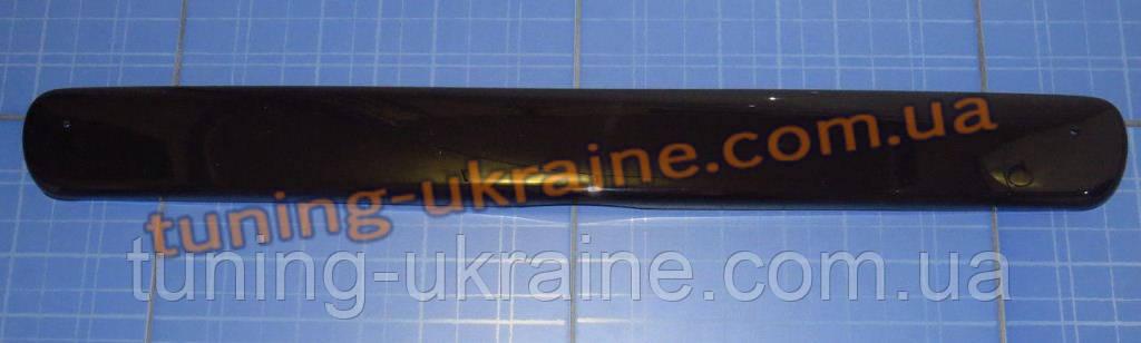Зимняя заглушка на решетку радиатора на Daewoo Lanos низ глянец