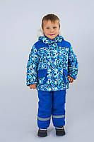 Зимний детский костюм-комбинезон для мальчика, фото 1