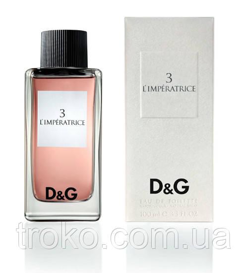 Туалетная вода для женщин Dolce&Gabbana L`Imperatrice 3
