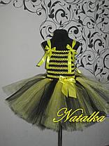 """Карнавальная юбка-платье туту из фатина """"Пчёлка"""", фото 2"""