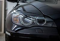 Реснички на фары для BMW X6 (E71) 2010-2014 г.в. БМВ Х6, фото 1