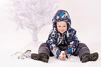 Куртка зимняя на флисе для мальчика