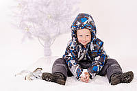 Куртка зимова для хлопчика на флісі, фото 1