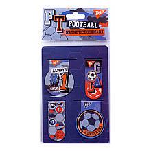 "Закладки магнитные YES ""Football"", 4 шт"
