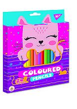 """Олівці кольорові YES 24 кол. """"Cats"""""""