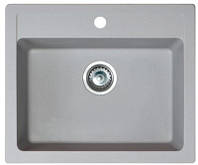 Кухонная мойка METALAC X GRANIT QUADRO 60 (161966) серый