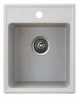 Кухонная мойка METALAC X GRANIT QUADRO 40 (152982) серый