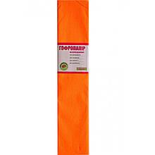 Папір гофрований 1Вересня флуоресц. помаранчева 20% (50см*200см)