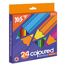 """Олівці кольорові YES 24 кол. """"Erudite"""""""