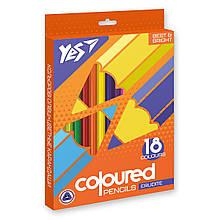 """Олівці кольорові YES 18 кол. """"Erudite"""""""
