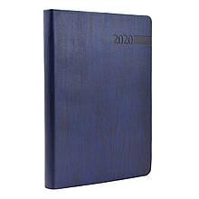 """Щоденник А5 дат. """"Eterno"""", тверд., PU, 352 стор, темно-синій"""