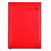 """Щоденник А5 дат. """"Persona"""", 352 стор, червоний"""