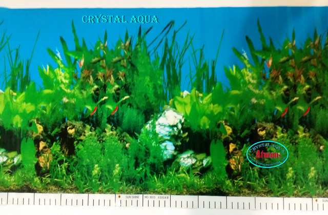 Фон для аквариума с высотой 60 см