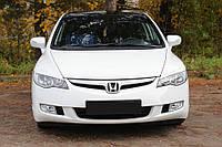 Реснички на фары для Honda Civic VIII 2006-2009 г.в.