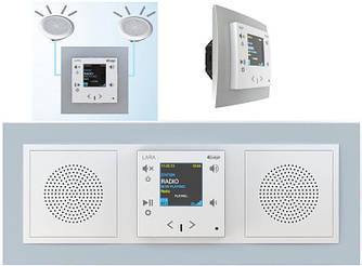 Установка системы мультирум Lara Radio на 2 аудиозоны