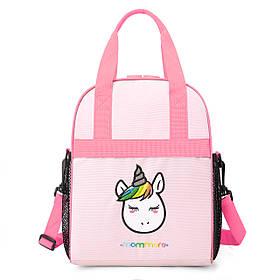 Дитяча рожева сумочка для сніданків UNICORN (0240011A012)