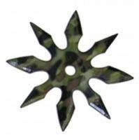 Метательная звезда-сюрикен 8 камуфляж , фото 1