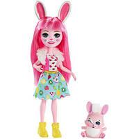 Enchantimals Кукла Зайка Бри и питомец Твист FXM73 Bree Bunny Doll, фото 1
