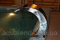 Водопад Кобра полированная сталь 304, фото 3