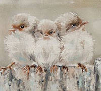 Кормушка для птиц от художников