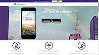 Французький стартап Plume Labs пропонує живу карту забруднення повітря