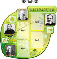 Биология. Стенд для кабинета биологии